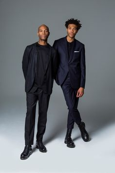 "Joe and Charlie Casely-Hayford, designers - ""The most menswear-friendly photobook of 2015: Gentlemen by GarconJon - GQ.co.uk"""
