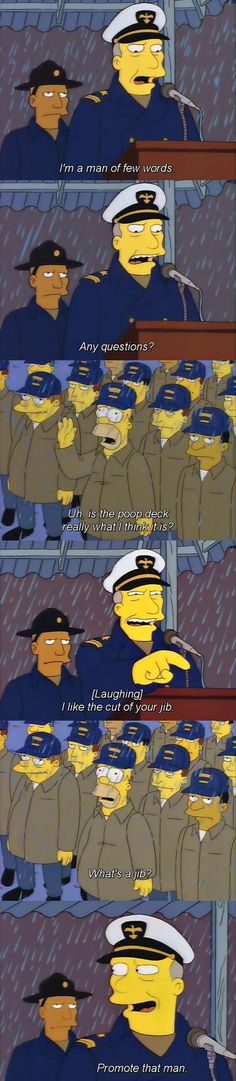One of the best Simpsons moments.