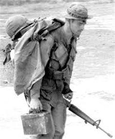 © Dan Evans 1970 US soldier of Company D, 506th Infantry Regiment, Thua Thien, Vietnam.