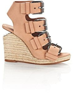 Jo Espadrille Wedge Sandal With Rhodium