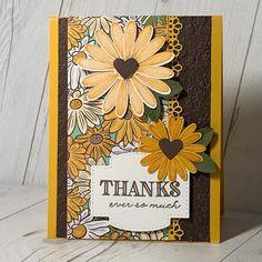 Card idea using Stampin' Up! Ornate Garden Bundle