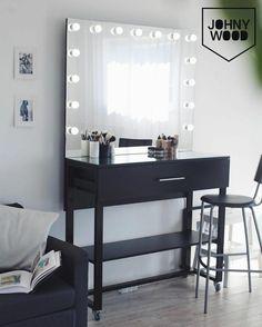 Гримерная станция. Гримерной зеркало. Стол для макияжа. Стол для визажиста. #гримернаястанция #гримерноезеркало #столвизажиста #vanitymirror