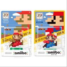 amiibo Mario modern & classic set SUPER MARIO Series 30th New Nintendo 3ds Wii U #Nintendo