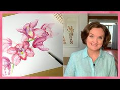 How to Paint Orchids in Watercolor - YouTube Orchids, Watercolor, Painting, Inspiration, Art, Pen And Wash, Biblical Inspiration, Art Background, Watercolor Painting