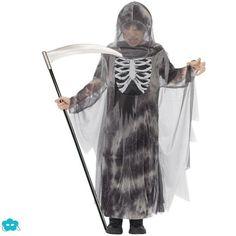 Disfraz de muerte fantasma para niño
