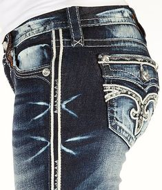 Rock Revival Ruella Straight Stretch Jean - Women's Jeans | Buckle  (thats it i love these jeans)