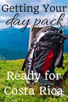Traveling to Costa Rica? Check out these essentials for your daypack that you won't want to forget.