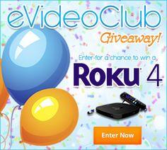 Win A Roku 4 Streaming Media Player 4K UHD