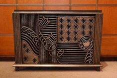 Prince Asaka Residence, Metropolitan Tokyo Teien Art Museum, Tokyo - Decopix - The Art Deco Architecture Site - Art Deco Metalwork Gallery Decor, Deco Decor, Gallery, Metal Working, Radiator Cover, Architectural Elements, Art Decor, Art Deco