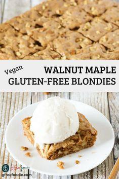 Easy No Bake Desserts, Gluten Free Desserts, Vegan Desserts, Homemade Snickers, Homemade Brownies, Dairy Free Vanilla Ice Cream, Best Gluten Free Recipes, Vegan Recipes, Desert Recipes