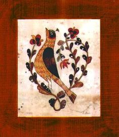 Affordable and Collectible Art, American Folk Art. Fraktur is a folk art form practiced by Pennsylvania Germans principally from the mid-eighteenth to the mid-n