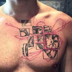 """""""Jo II:XIX #victormontaghini #victormontaghinitattoo #heart #tattrx #tattooistartmag"""""""