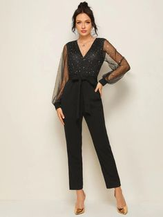 Jumpsuits For Women, Lanterns, Bodice, Evening Dresses, Overalls, Classy, Belt, Casual, Sleeves
