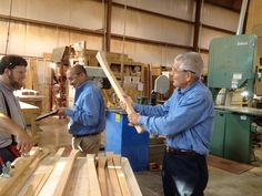 """""""This tradition of craftsmanship, passed from generation to generation – and from father to son – is the spirit behind every piece of solid wood furniture we carry. The furniture is not only made in America. It's made by families that Gallery Furniture is proud to partner with."""" Read more about why quality, solid wood is important to Gallery Furniture by clicking the pin! 