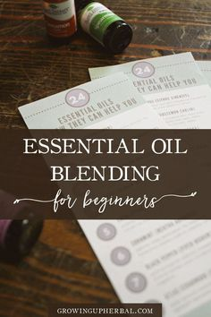 Essential oil blends are so useful for herbalists and natural moms and are foundational for creating your own essential oil recipes for diffusers and topical uses.