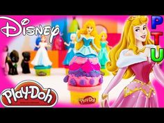 DISNEY Princess PLAY DOH Youtube Video AURORA | FUN TOYS for Kids | Magiclip Princesses - YouTube