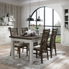 spisebord Extendable Dining Table, Skagen, Kitchen, House, Furniture, Home Decor, Butterfly, Expandable Dining Table, Cooking