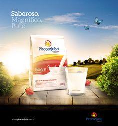 Anúncio Fantasma - Leite Piracanjuba on Behance