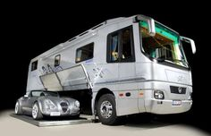 More Park Avenue than trailer park, million-dollar motorhomes or 'land yachts' are the preserve of H... - Volkner Mobil