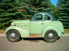 1937 HUDSON COUPE