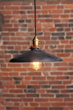 The Percey Vintage  Industrial pendant lamp with by WilkosElectric, $129.00