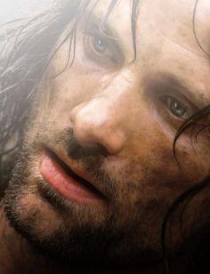 Viggo Mortensen as Aragorn II Elessar in 'The Lord of the Rings' Gandalf, Aragorn Lotr, Legolas, Arwen, Fellowship Of The Ring, Lord Of The Rings, Tyler Durden, O Hobbit, Viggo Mortensen