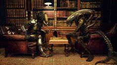 Preditor vs. Alien Chess