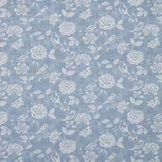 Bird Garden Curtain Fabric
