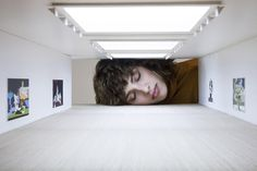 People Stick Their Heads into Miniature Galleries to Become Part of World Famous Art Exhibits - My Modern Met