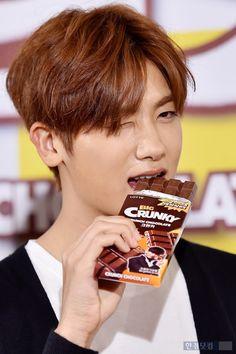 150420 Park Hyungsik @ ZE:A Crunky Fanmeeting