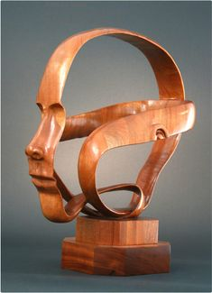 Ribbon Head Wood by *InspireIn3D on deviantART