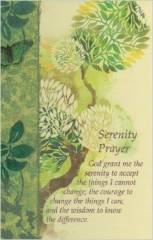 Serenity Prayer Journal: Christian Art Gifts: 9781770366077: Amazon.com: Books