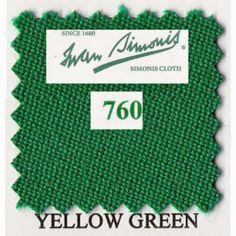 Kit tapis Simonis 760 7ft UK Yellow Green - 140,00 €  #Jeux