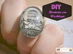 Crea tu propia bisutería con tu washitape favorito by El Baúl de la Mary ♥/ Create your own jewelry using your favorite washitape by El Baul Mary ♥