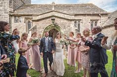 Confetti shower outside Dorset church Church Wedding Ceremony, Wedding Car, Farm Wedding, Wedding Photos, Wedding Dresses, Nontraditional Wedding, Marquee Wedding, Wedding Confetti, Father Of The Bride