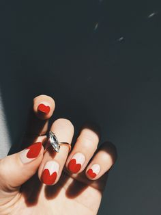 New favorite mani - with an old favorite RING.