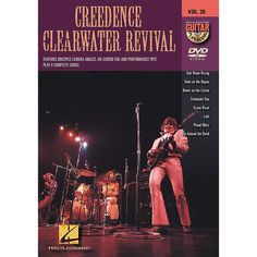 Hal Leonard Creedence Clearwater Revival - Guitar Play-Along DVD, Volu