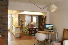 工作角+飯廳+廚房一角 來自 Meowma - DECOmyplace 居家誌