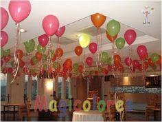 """Bloque de 18/"""" Fiesta Cumpleaños Globos Lámina Cuadrados Chicos edificio Ladrillo Nuevo Decoración"""