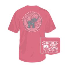 Southern Fried Cotton Baby Elephant T- Shirt