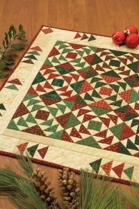 Christmas Goose Quilt By: Karen Costello Soltys