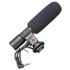 3.5mm Studio Recording Microphone for Canon/Nikon SLR Camera //Price: $35.99 & FREE Shipping //     #gadgets