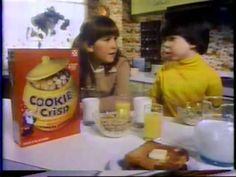Cookie Crisp Cereal 1970s Commercial - YouTube