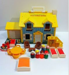 The Fisher Price little people house was hours of fun!!