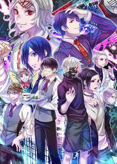 Tokyo Ghoul personagens(principais)
