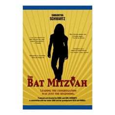 Who's the Star? You Are! Personalized Theme Posters for Your Bar or Bat Mitzvah