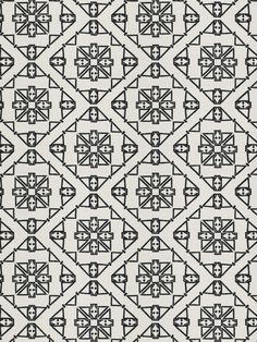 Fabricut Olea-BlackWhite by Nate Berkus 4968501 Decor Fabric - Patio Lane presents the popular collection of Nate Berkus fabrics by Fabricut. Olea-Black & White 4968501 is made out of 100% Polyester EMBROIDERY: 100% Rayon and is perfect for bedding and drapery applications. Patio Lane offers large volume discounts and to the trade fabric pricing as well as memo samples and design assistance. We also specialize in contract fabrics and can custom manufacture cushions, curtains, and pillows. If…