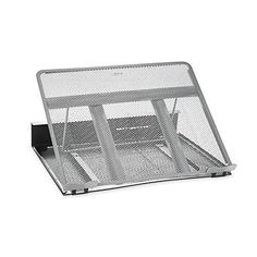 Rolodex Mesh Workspace Laptop Stand Black/Silver (82410)