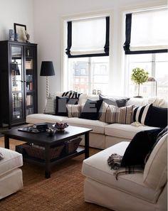 Roman Shades | IKEA 2014 - living room