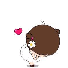Cute Bunny Cartoon, Cute Cartoon Pictures, Cute Love Pictures, Cute Love Gif, Cute Love Cartoons, Animated Smiley Faces, Funny Emoji Faces, Animated Emoticons, Cartoon Gifs